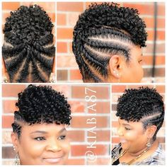 You'll love these braided hairstyles for black women protective styles for natural hair braids without weave or extensions. Get professional salon ideas, see faux loc, crochet braids. Braided Cornrow Hairstyles, Braided Hairstyles For Black Women, African Braids Hairstyles, Cornrows, Natural Hair Braids, Braids For Black Hair, Hair Twist Styles, Curly Hair Styles, Twisted Hair