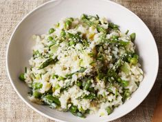 Get Spring Green Risotto Recipe from Food Network
