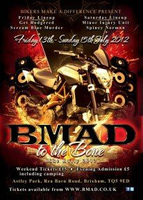 #BMAD #A2 #Poster designed & printed for charity bike event  0800 093 2960  sales@acprintltd.co.uk www.acprintltd.co.uk