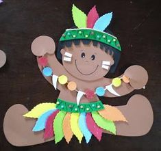 This Pin was discovered by ioa Kids Crafts, Foam Crafts, Summer Crafts, Preschool Crafts, Diy And Crafts, Arts And Crafts, Indigenous Tribes, Class Decoration, Shaped Cards
