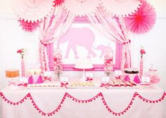Pink elephant!