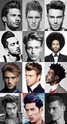 Men's Party Season Hairstyles - Big Hair, Maxed-Out Quiffs and Pompadours