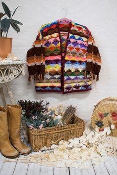 Crochet Cardigan Pattern, Crochet Jacket, Knit Crochet, Crochet Patterns, Woven Wrap, Warm Fuzzies, Knit Tie, Needle And Thread, Diy Clothes