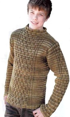 Меланжевый пуловер. Обсуждение на LiveInternet - Российский Сервис Онлайн-Дневников