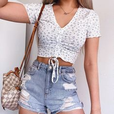 Trendy Summer Outfits, Cute Comfy Outfits, Teen Fashion Outfits, Mode Outfits, Girly Outfits, Cute Casual Outfits, Look Fashion, Pretty Outfits, Stylish Outfits
