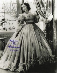 Olivia de Havilland Gone with the Wind Autographed Photos