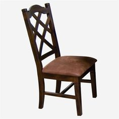 Santa Fe Double Crossback Dining Side Chair by Sunny Designs