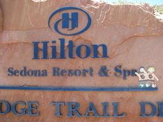 Happy to be here at Hilton Sedona Resort & Spa with my Chipette!
