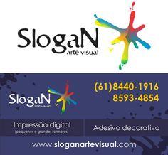Criação de logotipo para empresa de comunicação visual