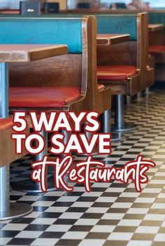 I admit, I love to eat out! But with a family of 5 it can get pricey and become a drain on the budget. Here are 5 ways to help you save at Restaurants. Family Of 5, Frugal Family, Frugal Living Tips, Frugal Tips, Ways To Save, 5 Ways, Setting Up A Budget, Dividend Investing