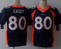 755b84b86 ... NFL Jersey Orange Home Mens Denver Broncos 80 James Casey 2013 Nike  Navy Blue Elite Jersey ...