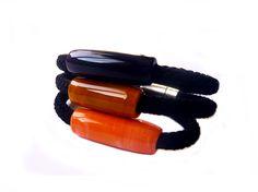 Noak-Bat. Pulsera / Collar de vidrio de Murano. Artesanía en vidrio soplado