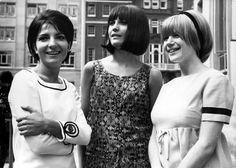 Rita Pavone, Sandie Shaw & Marianne Faithful