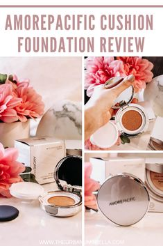 Looking for a great cushion foundation? The Amorepacific Cushion Compact could be it - it's lightweight, comfortable, and easy to wear. Beauty Advice, Beauty Hacks, Foundation, Matte Makeup, Beauty Review, All Things Beauty, Compact, Beauty Makeup, How To Apply