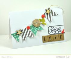 Hello LOVE by Dawn McVey at Studio Calico... The the banner