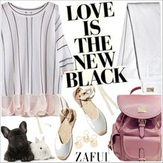 Zaful by teoecar on Polyvore featuring moda, Soludos and zaful
