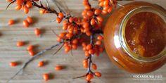Havtornmarmelade med vanille og æble - Powered by Juice, Dips, Dressing, Food, Vanilla, Marmalade, Syrup, Juicing, Sauces