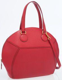 Hermes Rouge Vif Epsom Leather Ile de Shiki Bag with Gold HardwareVery