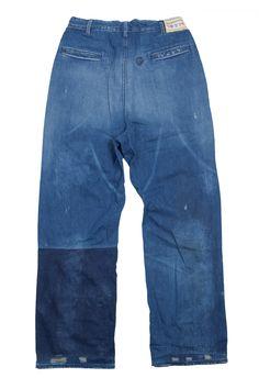 Levi's vintage clothing pant - Vintage - Atelier de l'Armée Vintage Jeans, Vintage Outfits, Vintage Clothing, Lava, Loose Fit Jeans, Tailored Shirts, Denim Outfit, Work Wear, Denim Jeans
