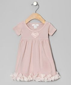 Blush Bow Petal Dress