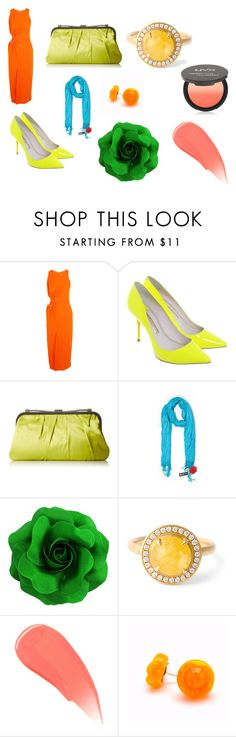 """Shaded Spring"" by silvia-flora-catrambone ❤ liked on Polyvore featuring Thierry Mugler, BCBGMAXAZRIA, Apt. 9, Anne Sportun, Burberry and NYX"