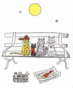 Jenny and the Cat Club (Pickles, Jenny, Butterfly, Mr. President) by Esther Averill