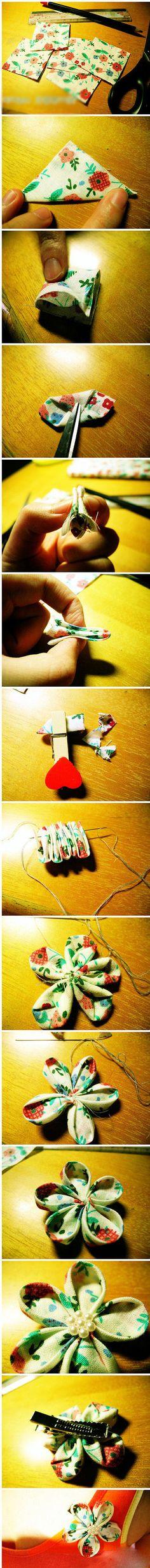 DIY Hair Bow diy craft crafts diy crafts easy diy easy craft diy bow diy accessories craft hair bow craft accessory