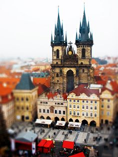 Czech Republic, this square is so much fun, especially during the Easter markets!