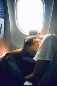 long-distance flight.