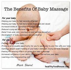 Baby massage mommy helpful tips