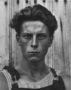 Young Frenchman, 1951. Photo- Paul Strand