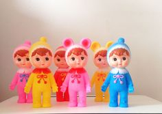 "invasion of the kitsch, kawaii kewpie dolls...,they will take over the earth because their so cute that when they come to get you you're too mesmerized by the ""aahh"" factor to run away. save us someone with a cold unfeeling heart or we're all doomed"