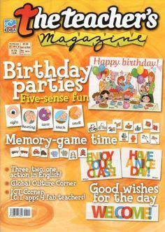 Download The Teachers Magazine PDF magazine free! Pdf Magazines, Magazines For Kids, English Activities, Preschool Activities, Teacher Magazine, Have Fun Teaching, Kids English, Memory Games, Dramatic Play