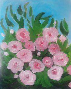 Wall Art, Rose, Flowers, Plants, Painting, Pink, Florals, Painting Art, Paintings