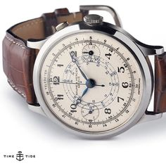 When Baume & Mercier revived this single-pusher Chronograph model from 1948 as 'The Capeland' they achieved what The Rake called a 'modern classic'. The designer behind the reissue, Alexandre Peraldi, explained: We had our eye on this model for a lo
