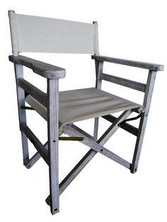 Πολυθρονα σκηνοθέτη Pacific Γκρί Outdoor Chairs, Outdoor Furniture, Outdoor Decor, Home Decor, Decoration Home, Room Decor, Garden Chairs, Home Interior Design, Backyard Furniture