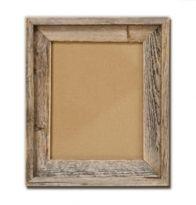 Barnwood frames from rusticdecorllc.com for escort card/horseshoe table