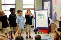 Help students decompose numbers using two hula hoops. Students can really see and act out number sentences this way!