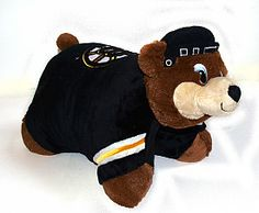 okay, so i know i am a grown woman...but i really think i need this Bruins pillow pet. :)
