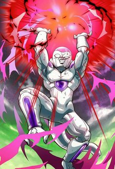 Why Is Frieza Evil In DBZ - When we look at the history of Frieza and is family, we can see that he was infulince buy his father and power to be so evil. Dragon Ball Gt, Dragon Ball Image, Dragon Z, Majin Boo Kid, Photo Dragon, Lord Frieza, Animes Wallpapers, Z Arts, Akira
