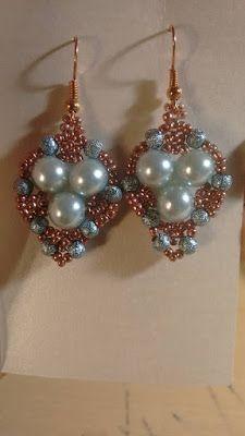 Passione Perline: Orecchini Giuggiola