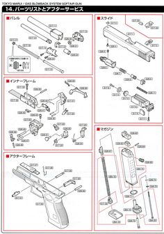 Glock Parts Exploded View Diagram | Glock 19 Pistol Review ...