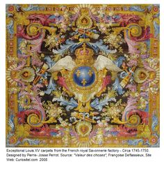 Exceptional Louis XV carpets from the French royal Savonnerie factory