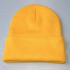 235992a8e0f New Fashion Candy Color Woman s Warm Woolen Winter Hats Knitted Fluo Hats  for Men Gorro Beanie