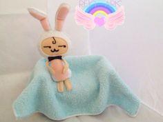 Mustache Bunny Doll