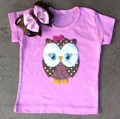 Owl shirt- Bella loves purple and owls.. Already has one.. She wants more