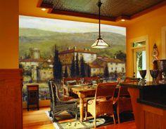 www.tusmurales.com nunca te defraudará en cuanto a calidad se refiere. Mira qué comedor...