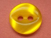 14 kleine gelbe Knöpfe 12mm (5657-2)