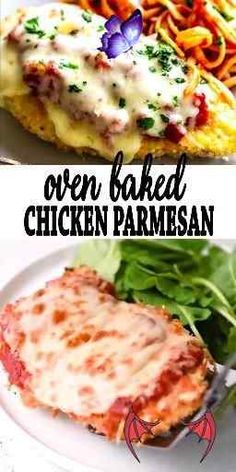 Oven Baked Chicken Parmesan  <br>