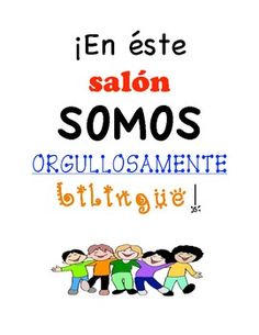 Proud to be bilingual sign (free)